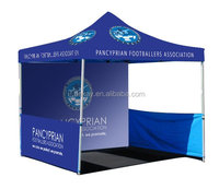 10*10 heavy duty hexagonal aluminum frame pop up tent canopy with logo printing