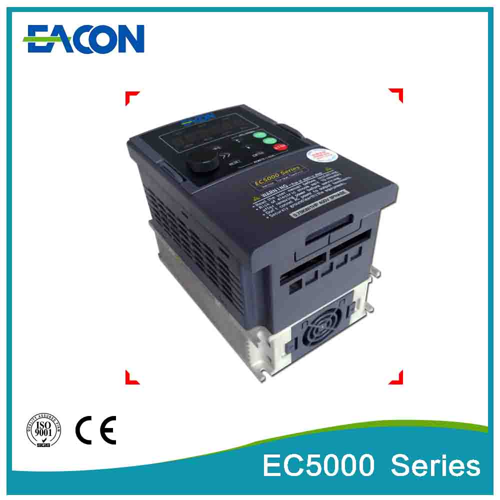 0.4kW 220V 1/3 phase ac drive, 1KVA easy drive inverter for single phase motors