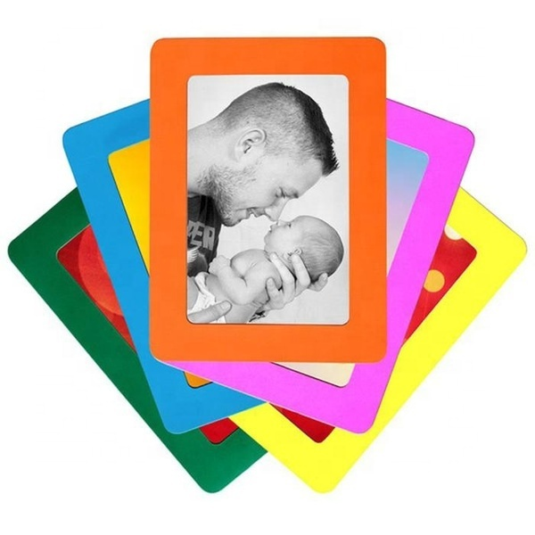 High Quality Durable Soft Rubber PVC Hanging Single Layer Photo Frames Magnets