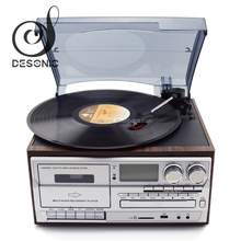 Gramophone sale vinyl records lp player with USB SD CD Player Radio Cassette