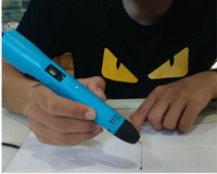 3D Printer Pen 3D Drawing Pen With LCD Screen Support Portable Power