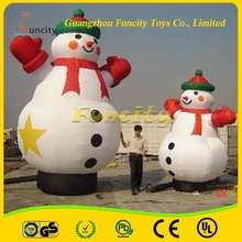 2015 christmas decorative snowman/giant inflatable snowman for christmas
