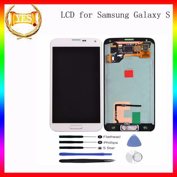 Repair Kit Brand New Lcd Touch Screen For Samsung S5 Guangzhou Manufacturers