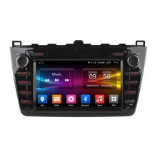 koason old mazda 6 2008 car dvd player double din with gps navigation system DAB+ TPMS dvb-t mazda 6 car dvd
