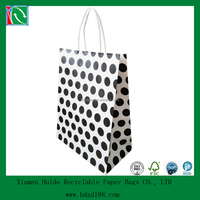 2015 machine made handle bubbles gift bags paper