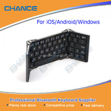 Bluetooth 3.0 Wireless TRIPLE Folding Keyboard For iPhone iPad Android 24Mbps