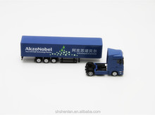Customize scale 1:87 die cast mini alloy promotional truck toy