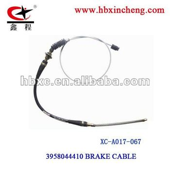 High quality automobile control cable /brake cable for car repair