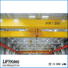 LIFTKING workshop double girder electric trolley travelling overhead crane