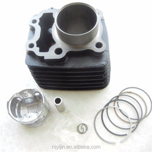 wholesale motorcycle engine parts cylinder piston kit for BAJAJ CT100