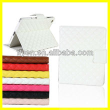 2013 New Fashion Luxury Advance Leather Belt Clip for iPad mini Case Stand With Card Slot Manufacturer Wholesale