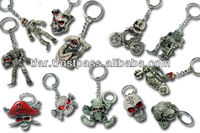skull key chains