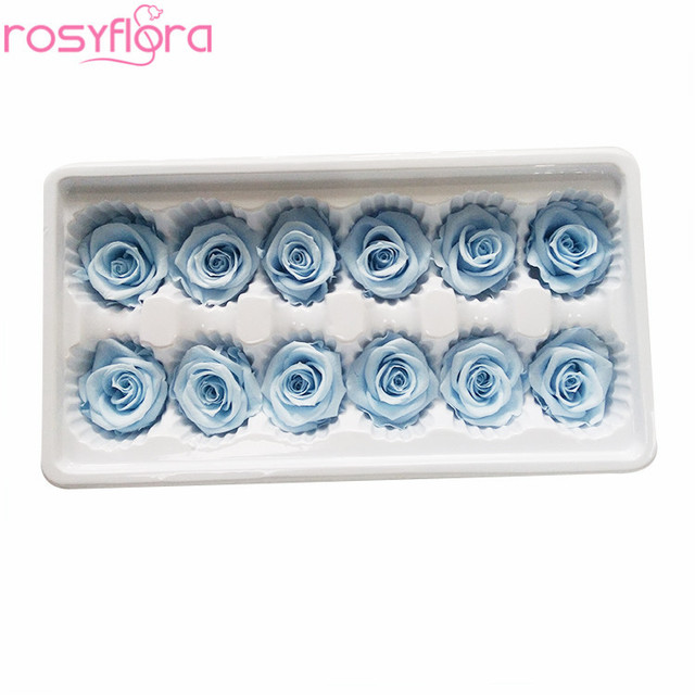 Cheap Supply Preserved Flower Preserved Roses Head from China