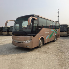 9M bus coach 36 seat euro2 luxury sleeper bus rear engine bus for sale