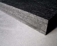 Thermal insulation for glassfiber resin sheet