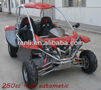 renli EEC 250cc on road/street legal go kart/buggy/quadricycle