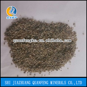 Perlite row material, expended