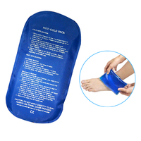 compress nylon gel ice sheet hot cold pack