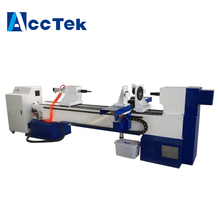 cheaper 3d small cnc wood lathe carving turning machine for cylinder material for sale