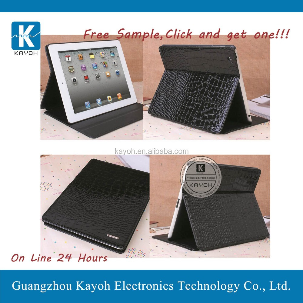 [kayoh] flip pu leather case for ipad mini 2 tablet case