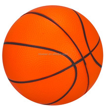 PU foam anti stress ball/dia.6.3cm/basket ball toy/promotional gifts