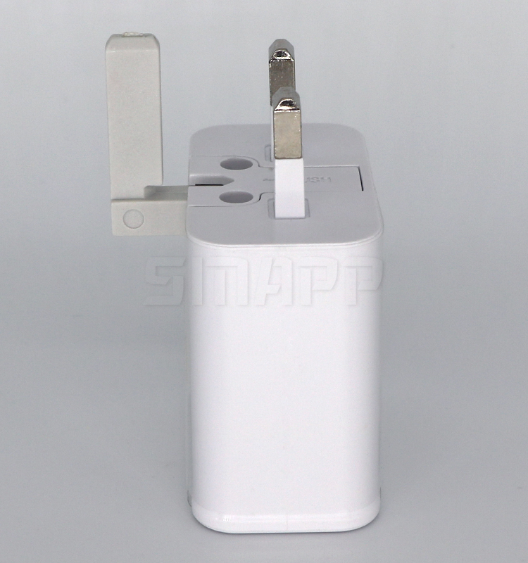 For Samsung Fast Charger UK 3 Plug Mobile USB Wall Charger For Travel Charger