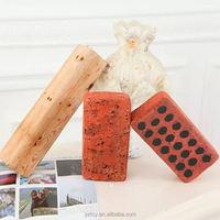 25*12*6cm cotton core simulation Brick Pillow Tree Stump Wood Pillow Log Pillow Batten Creative Plush Toys Children's Game