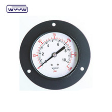 Back mount panel pressure gauge from China