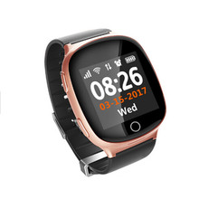 New Arrival Fashion SOS function WIFI GPS Watch Tracker GPS Clock tracker