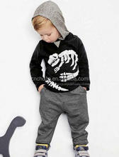 Z51839B new arrival good quality boy and girl baby long sleeve sweater suit pullover sweater tops + pants boys clothing sets