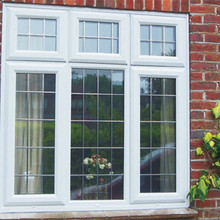 European Standard Small Casement Window/French Aluminum Casement Window