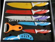 ceramic coating colored knives