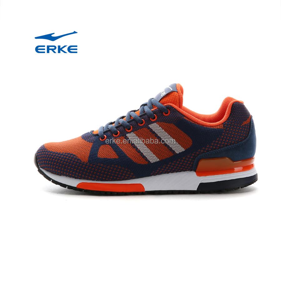 erke brand originals lifestyle mens sports running shoes