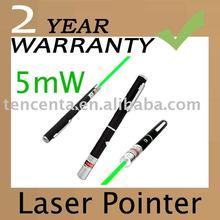 Gift 5mw 532nm Astronomy Powerful Green Laser Pointer Silver