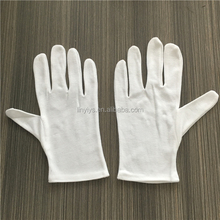 100% cotton material working gloves/cotton inspection gloves/Etiquette gloves