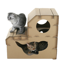 New design patent product Cat scratching outdoor cat house