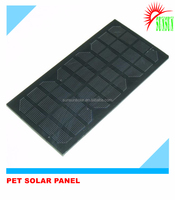 Epoxy PET mini solar panel 12v
