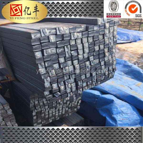 a36/q235/s37-2 equivalent steel material low steel billet price mild steel square bar