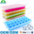 Frozen candy chocolate jelly mold silicone mini ice cube tray with lid