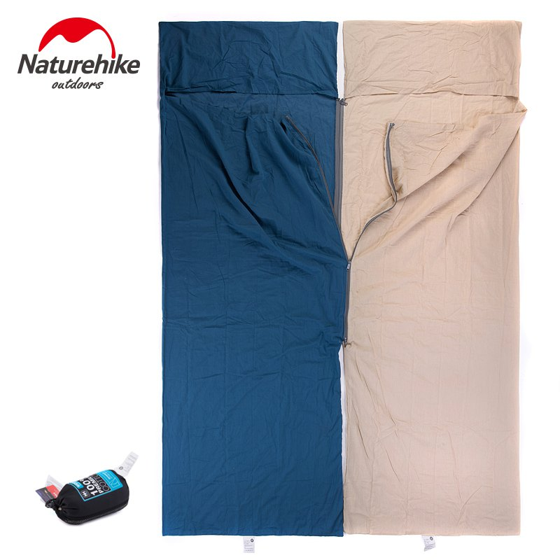 Naturehike Portable Ultra-light Cotton Widened Outdoor Liner Sleeping Bag travelling camping