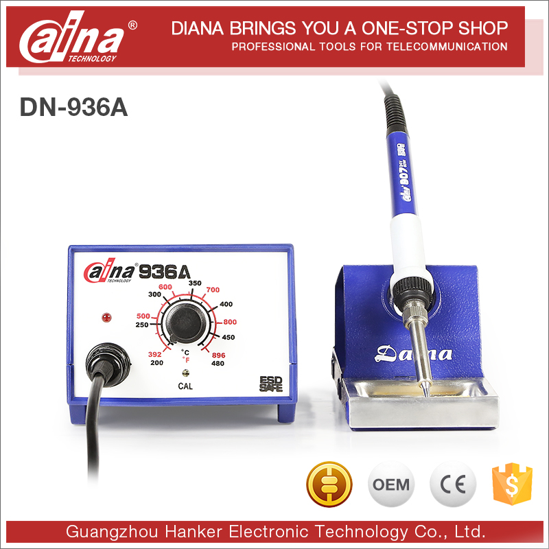 2016 Daina brand Anti-static ultrasonic Newly Japan PTC Heating Soldering Station with electric soldering iron DN-936A