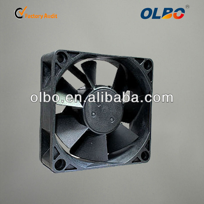 OLBO DC Fan 7025 5v 12v Radial Fan 70x70x25 DC Brushless Cooling Fan with CE, CCC, ROHS Approved