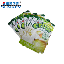 printed plastic packaging bag for sea food