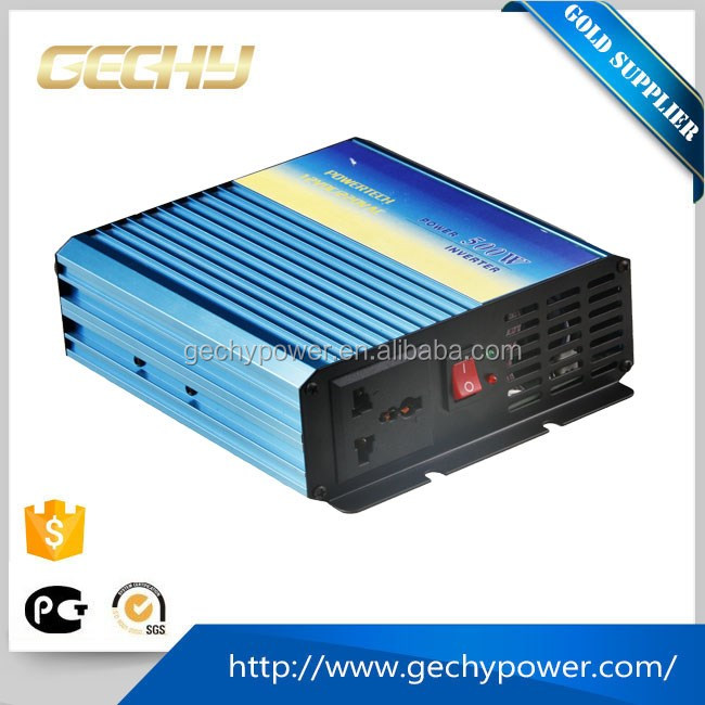 500W DC12V to AC 230V modified sine wave car power inverter with usb charger