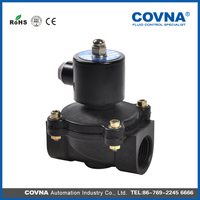 High production electric water valve 24v plastic solenoid valve