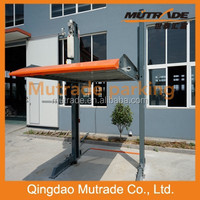 2014 new product CE ISO9001 two post simple parking system for home Two floors