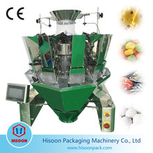 Automatic Multihead Weigher Weighing VFFS Biscuit Packing Machine