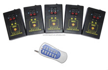 10 cues fireworks firing system wireless remote controller