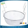 customize stainless steel wire mesh kitchen cooking basket