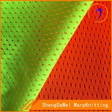 100 polyester reflective tulle fabric safety vest material